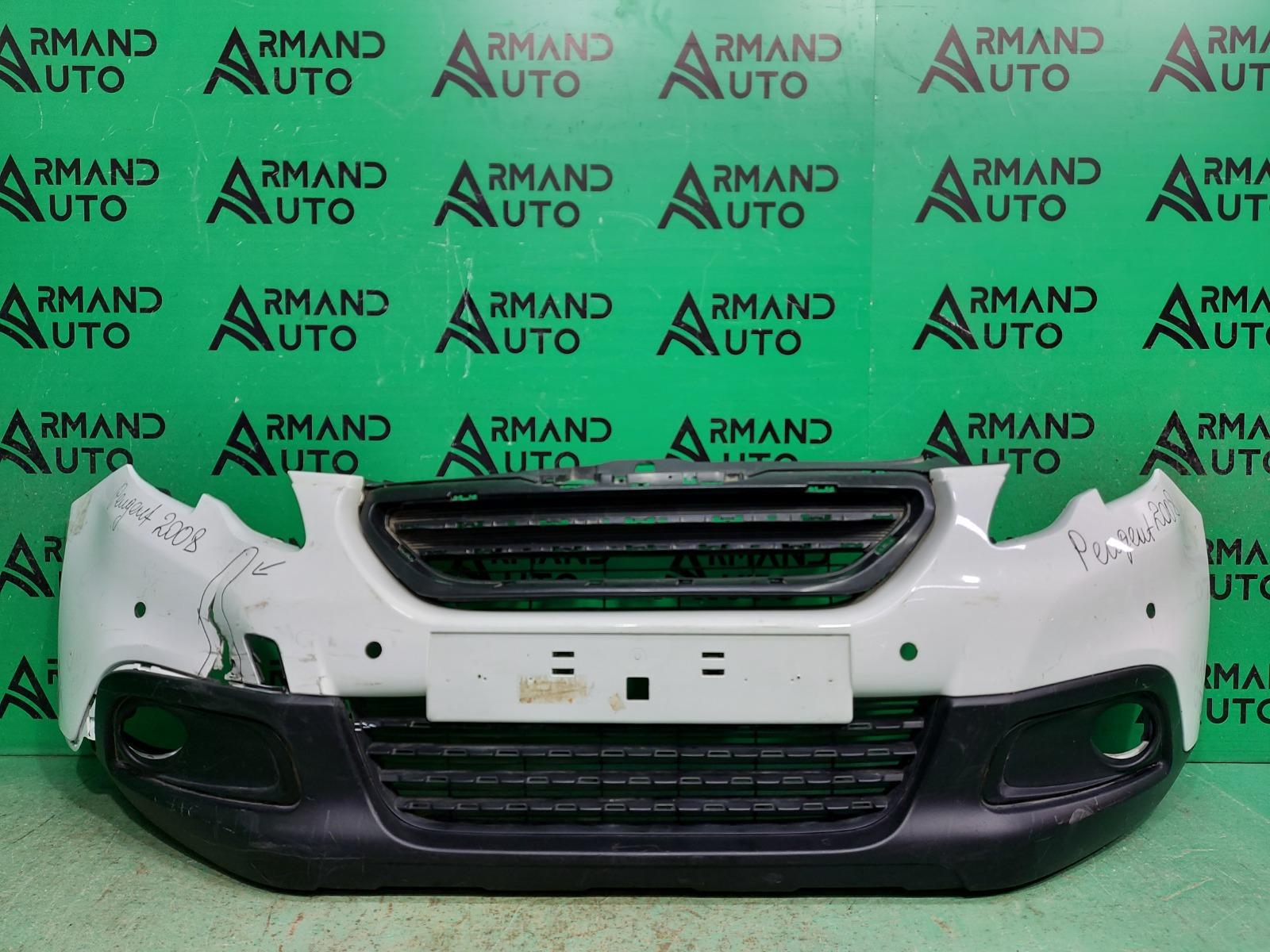 Бампер Peugeot 2008 1 2013 передний (б/у)