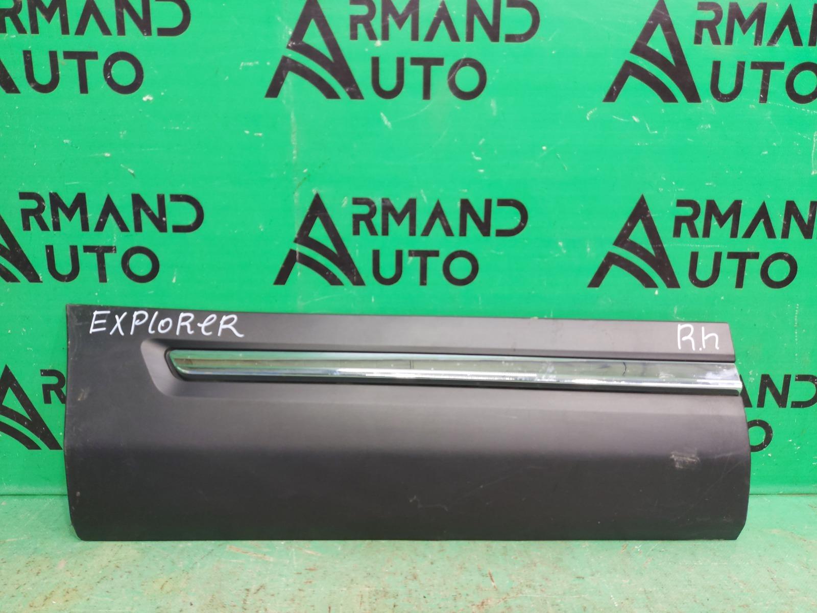 Накладка двери Ford Explorer 5 РЕСТАЙЛИНГ 2015 задняя правая (б/у)