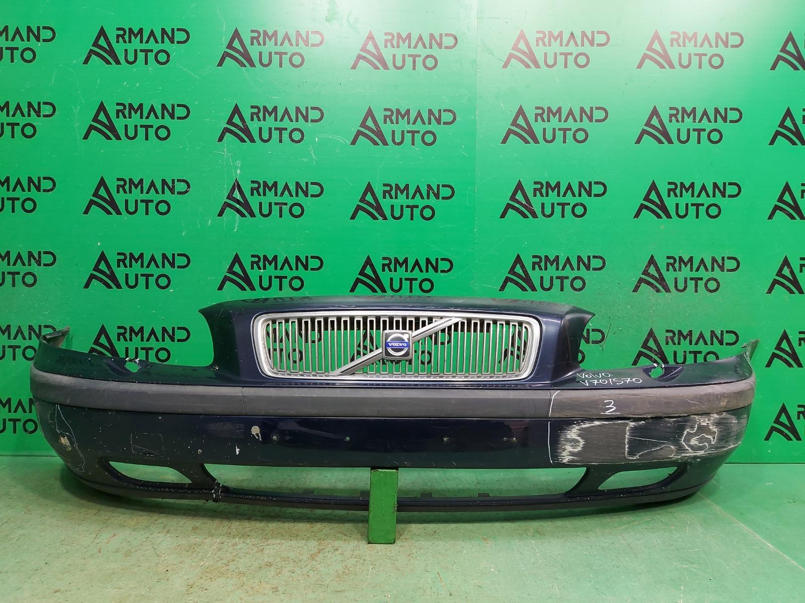 Бампер Volvo V70 2 2000 передний (б/у)