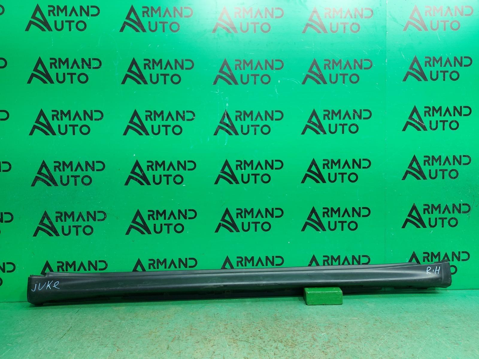 Накладка порога Nissan Juke YF15 2010 правая (б/у)