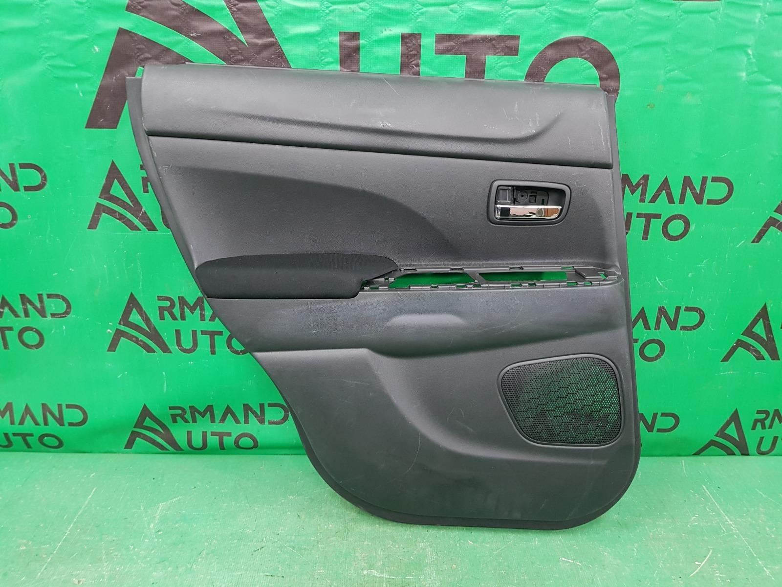Обшивка двери Mitsubishi Asx 1 2010 задняя левая (б/у)