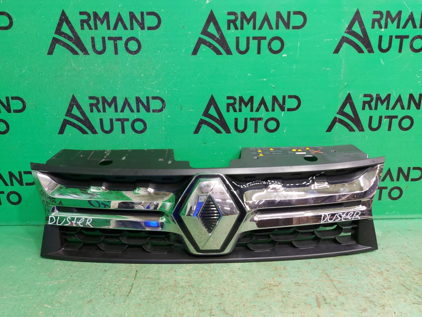Решетка радиатора Renault Duster 1 РЕСТАЙЛИНГ 2015 (б/у)