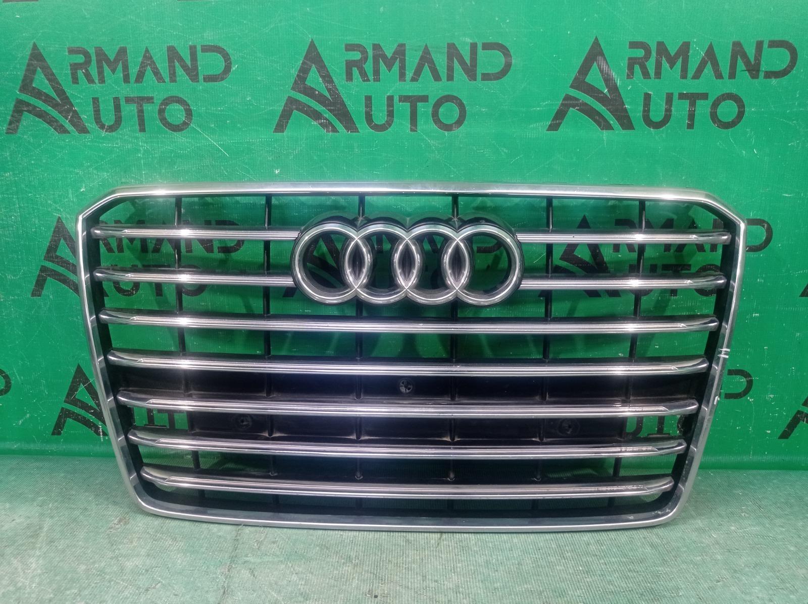 Решетка радиатора Audi A8 3 D4 2013 (б/у)