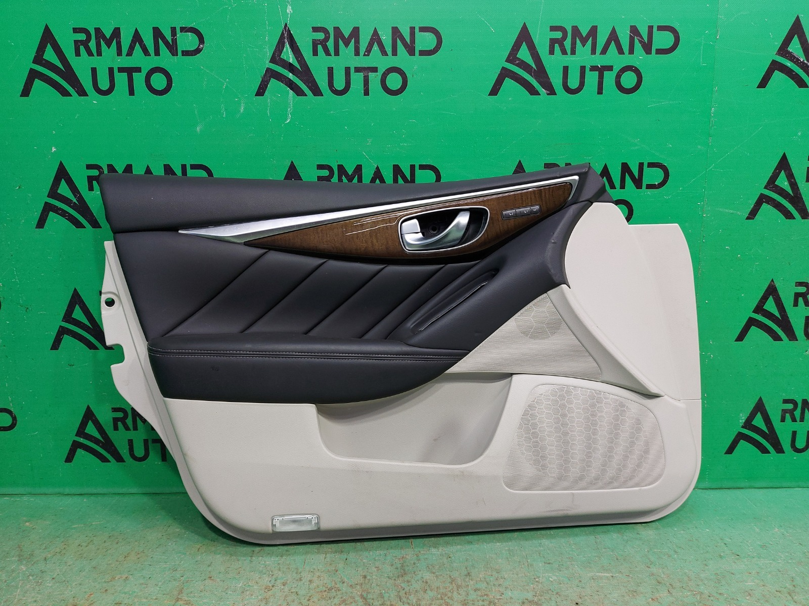 Обшивка двери Infiniti Q50 V37 2013 передняя левая (б/у)