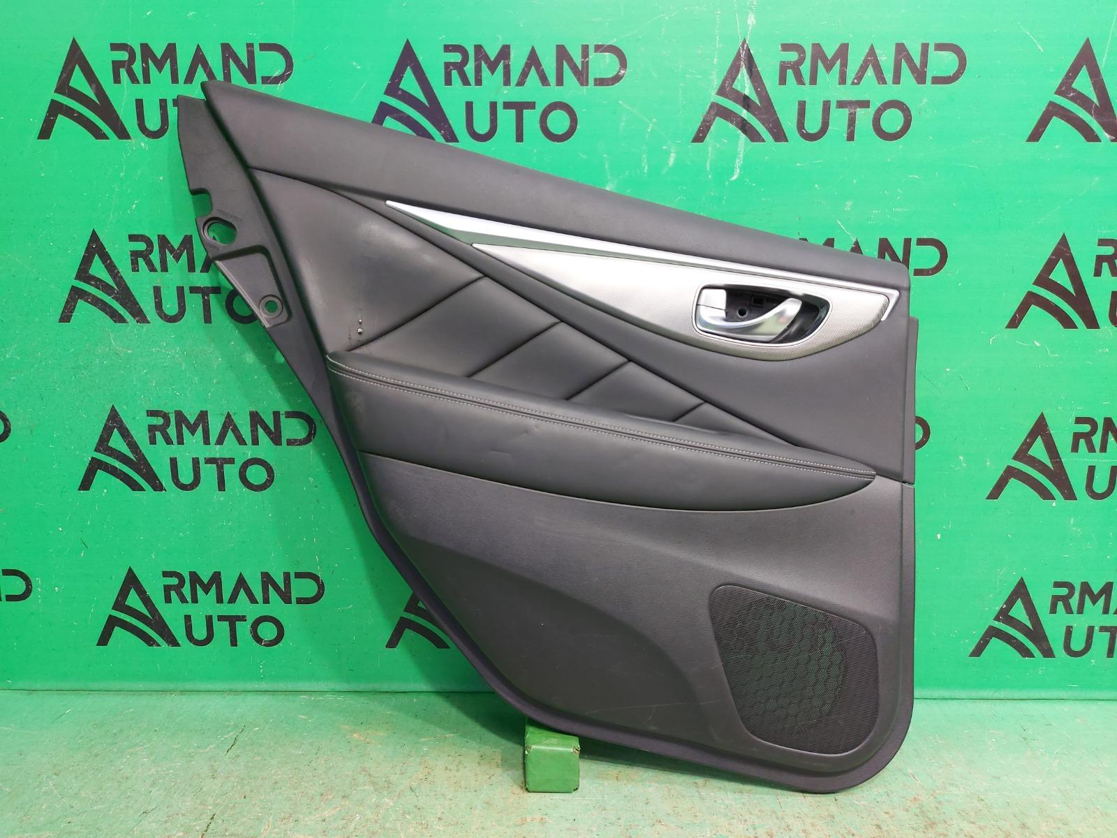 Обшивка двери Infiniti Q50 V37 2013 задняя левая (б/у)