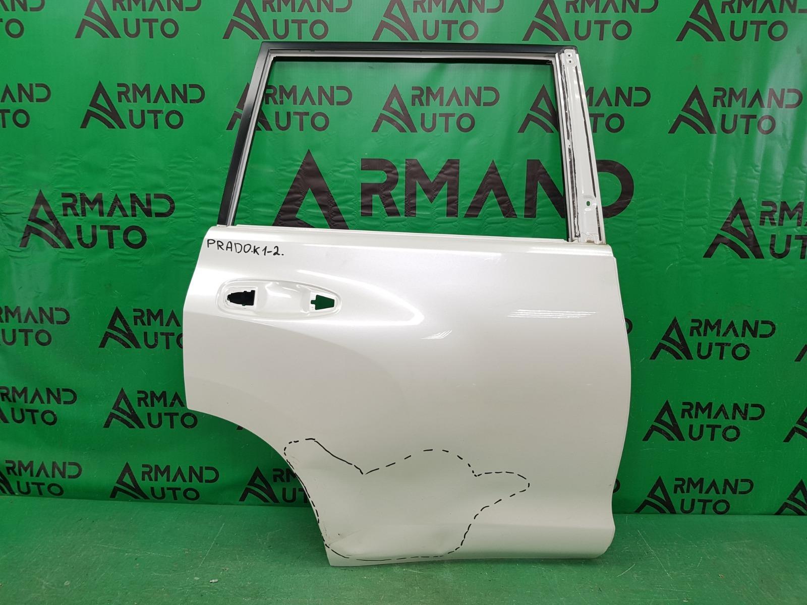 Дверь Toyota Land Cruiser Prado 150 2009 задняя правая (б/у)