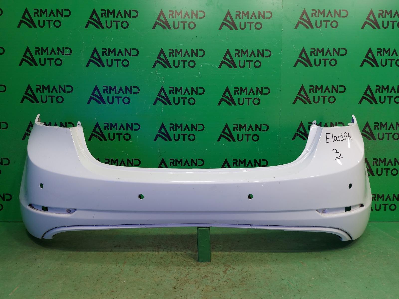 Бампер Hyundai Elantra 5 РЕСТАЙЛИНГ 2013 задний (б/у)