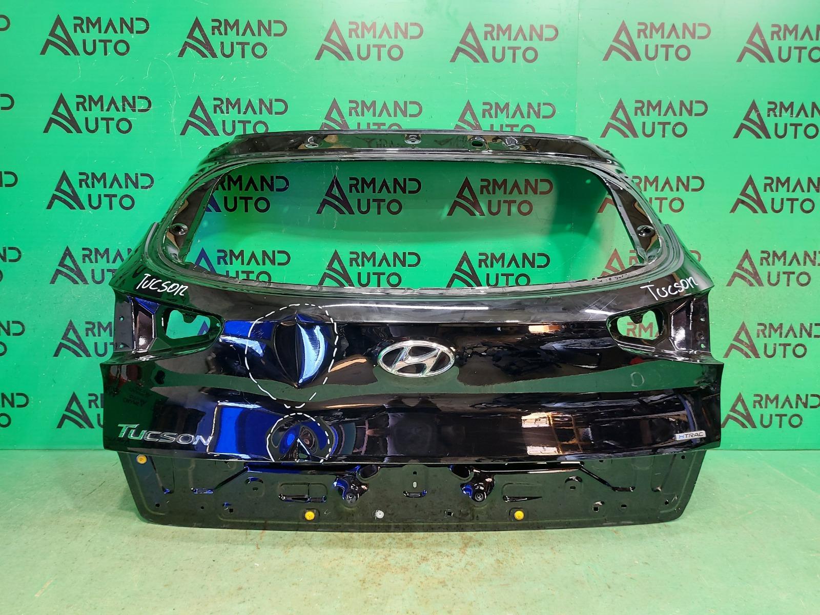Дверь багажника Hyundai Tucson 3 РЕСТАЙЛИНГ 2018 (б/у)