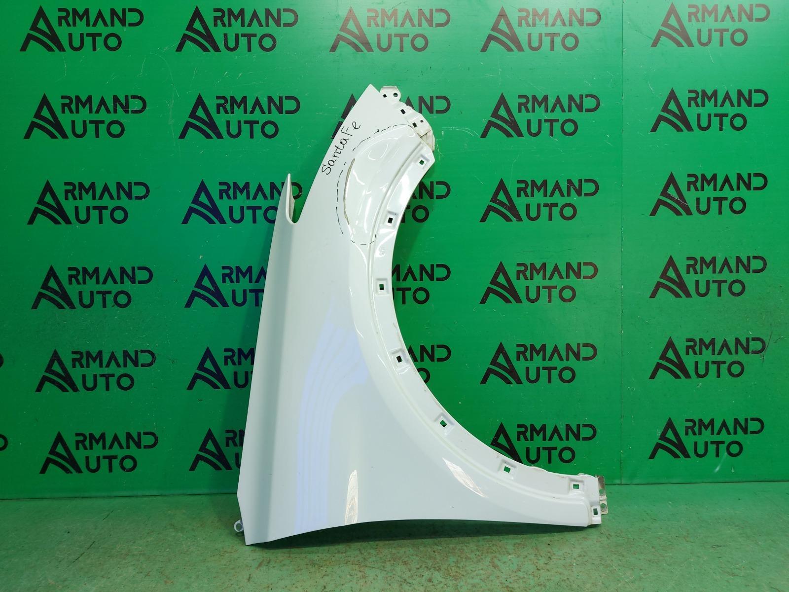 Крыло Hyundai Santa Fe 3 2012 переднее правое (б/у)