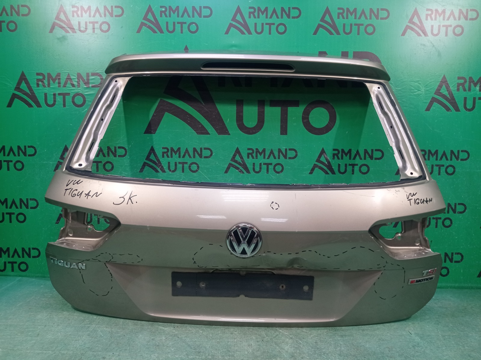 Дверь багажника Volkswagen Tiguan 2 2016 (б/у)