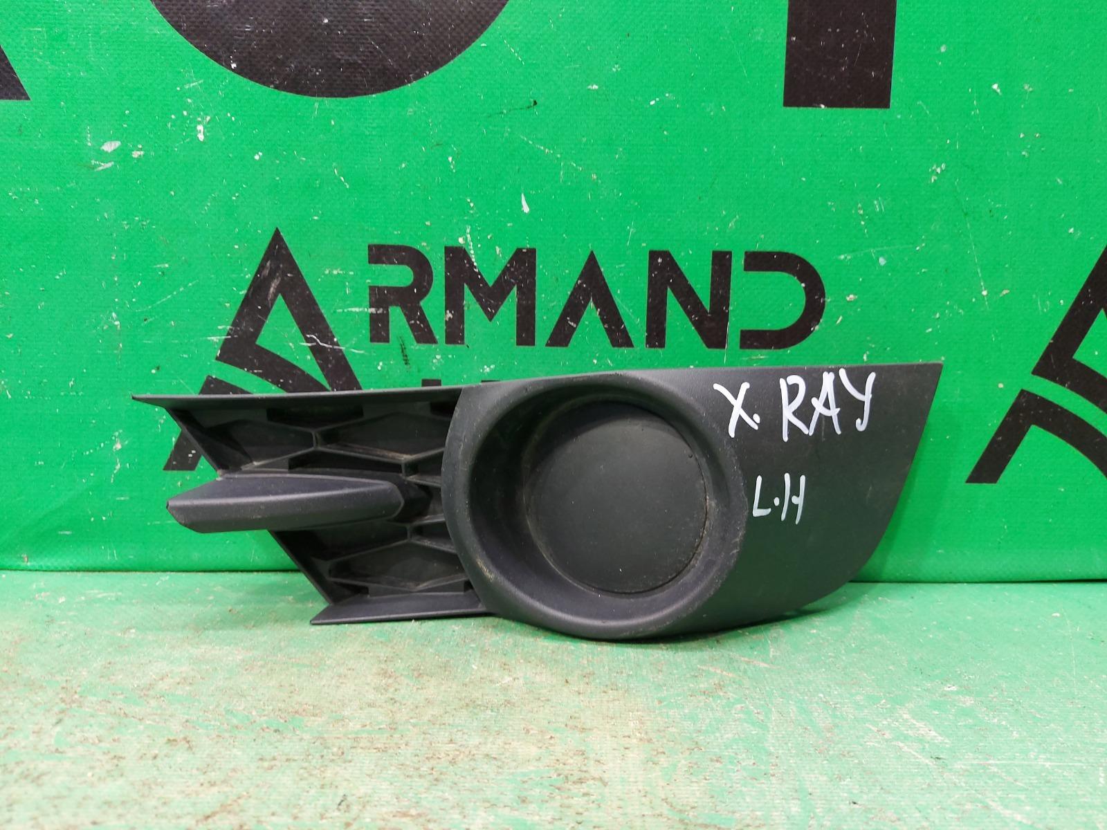 Накладка птф Lada X-Ray 1 2015 левая (б/у)