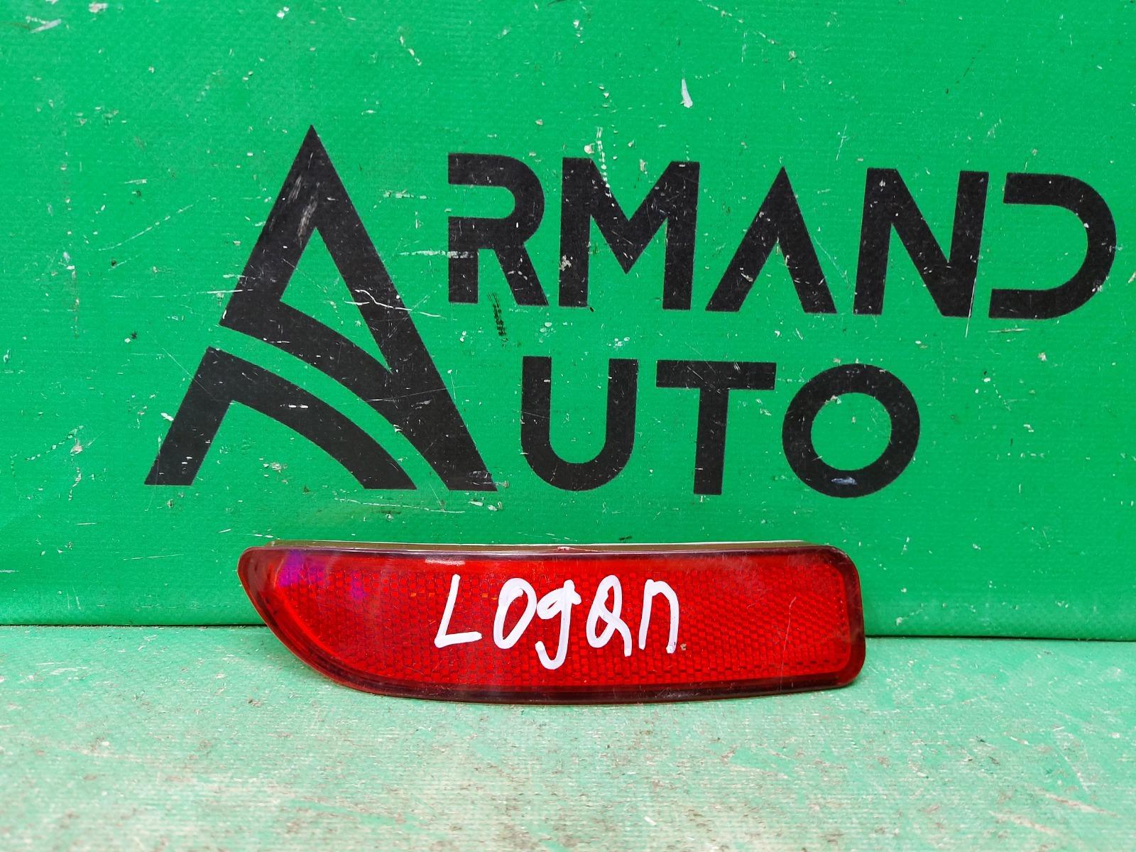 Катафот Renault Logan 2 2014 правый (б/у)