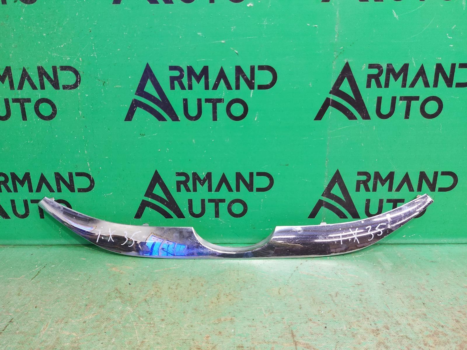 Накладка решетки радиатора Hyundai Ix35 1 2010 (б/у)