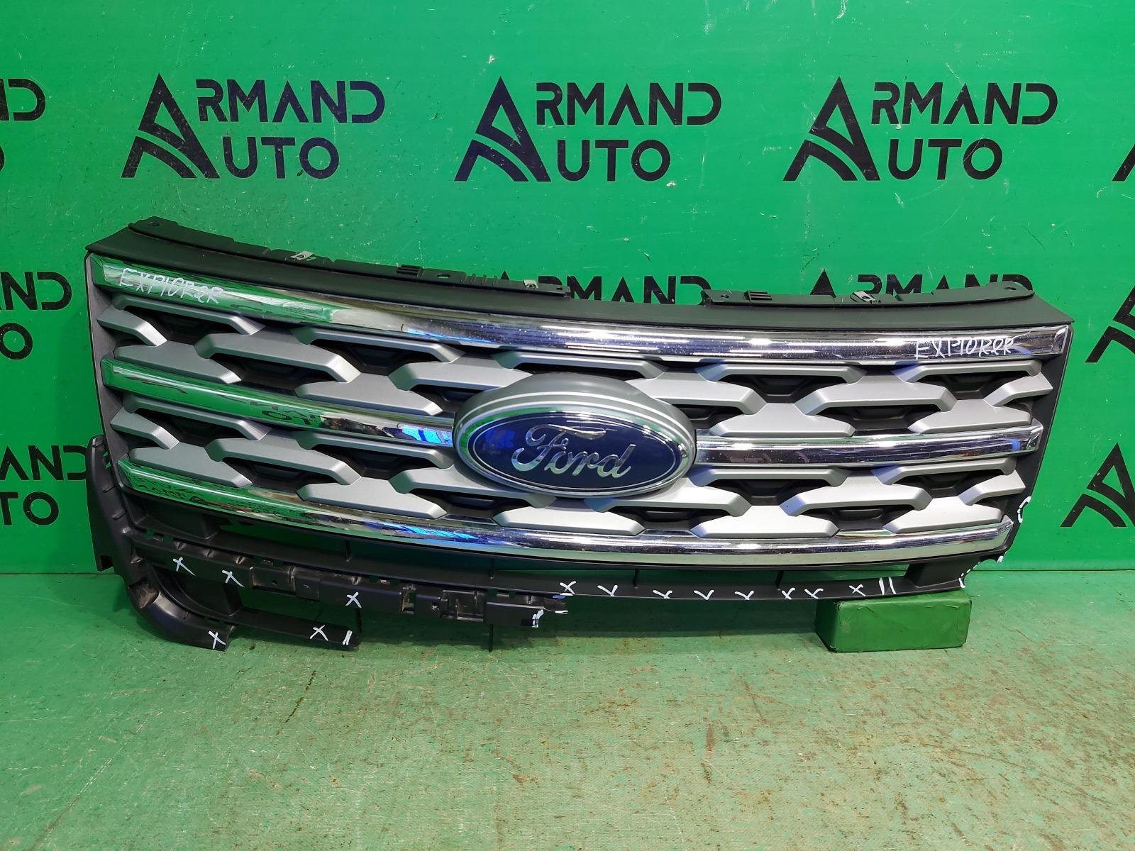 Решетка радиатора Ford Explorer 5 РЕСТАЙЛИНГ 2017 (б/у)