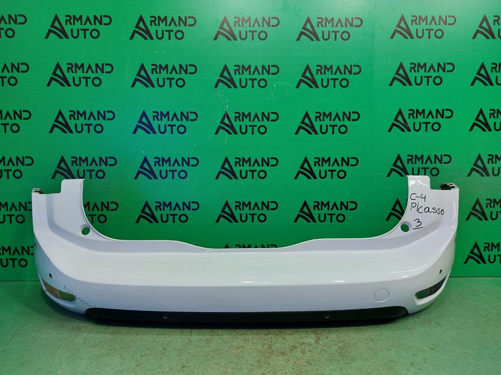 Бампер Citroen C4 Picasso 2013 задний (б/у)