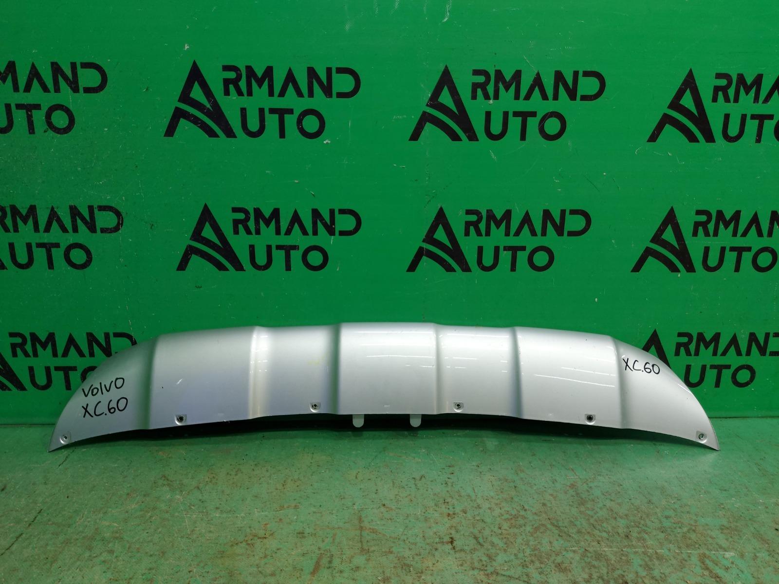 Накладка бампера Volvo Xc60 1 РЕСТАЙЛИНГ 2013 передняя (б/у)