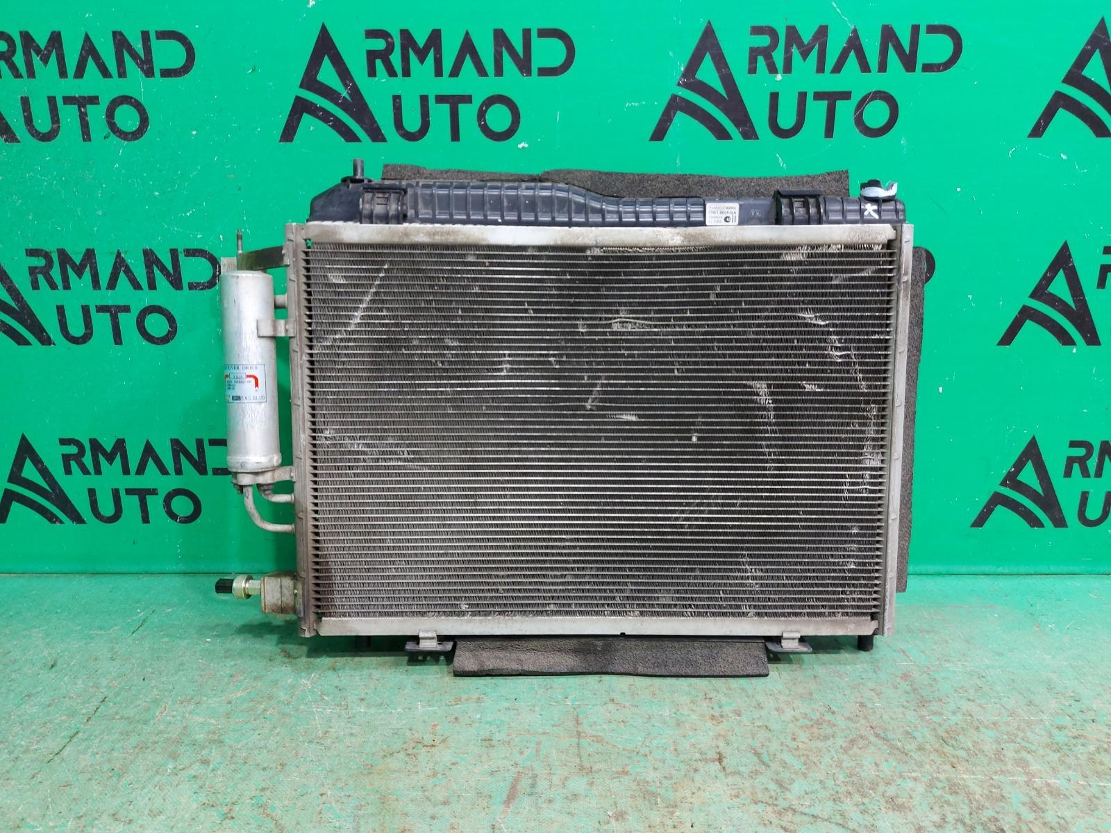 Радиатор кондиционера Ford Fiesta MK6 2008 (б/у)