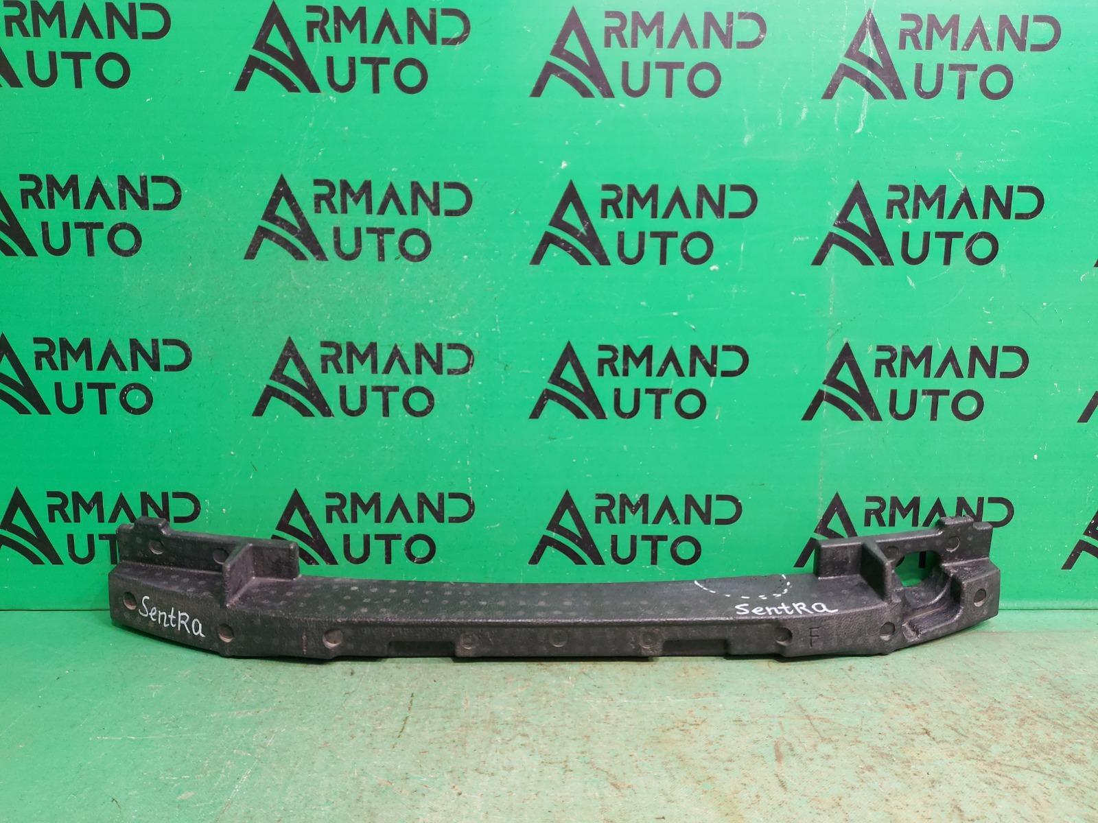 Абсорбер бампера Nissan Sentra B17 2012 передний (б/у)
