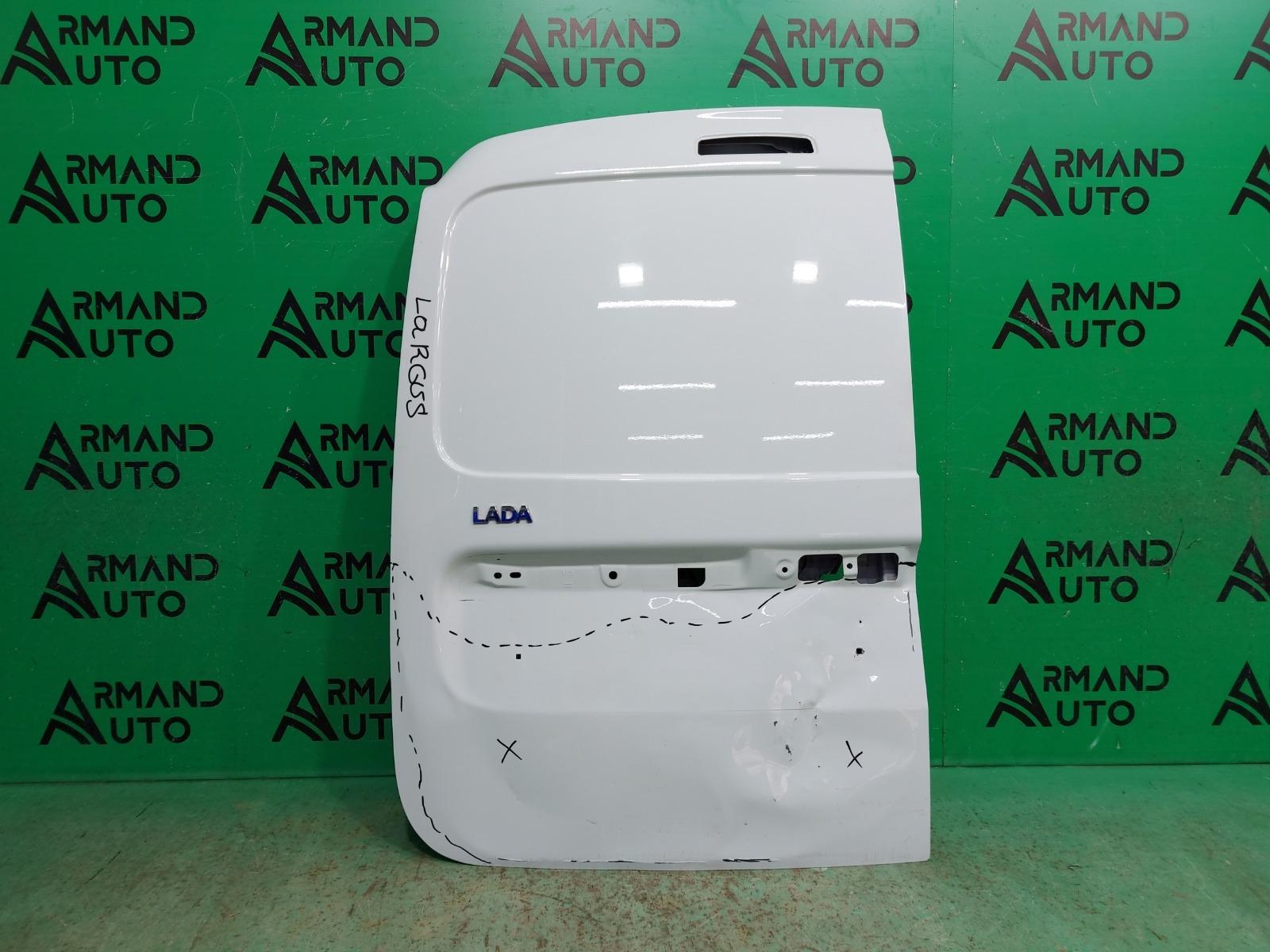 Дверь багажника Lada Largus 1 2012 левая (б/у)