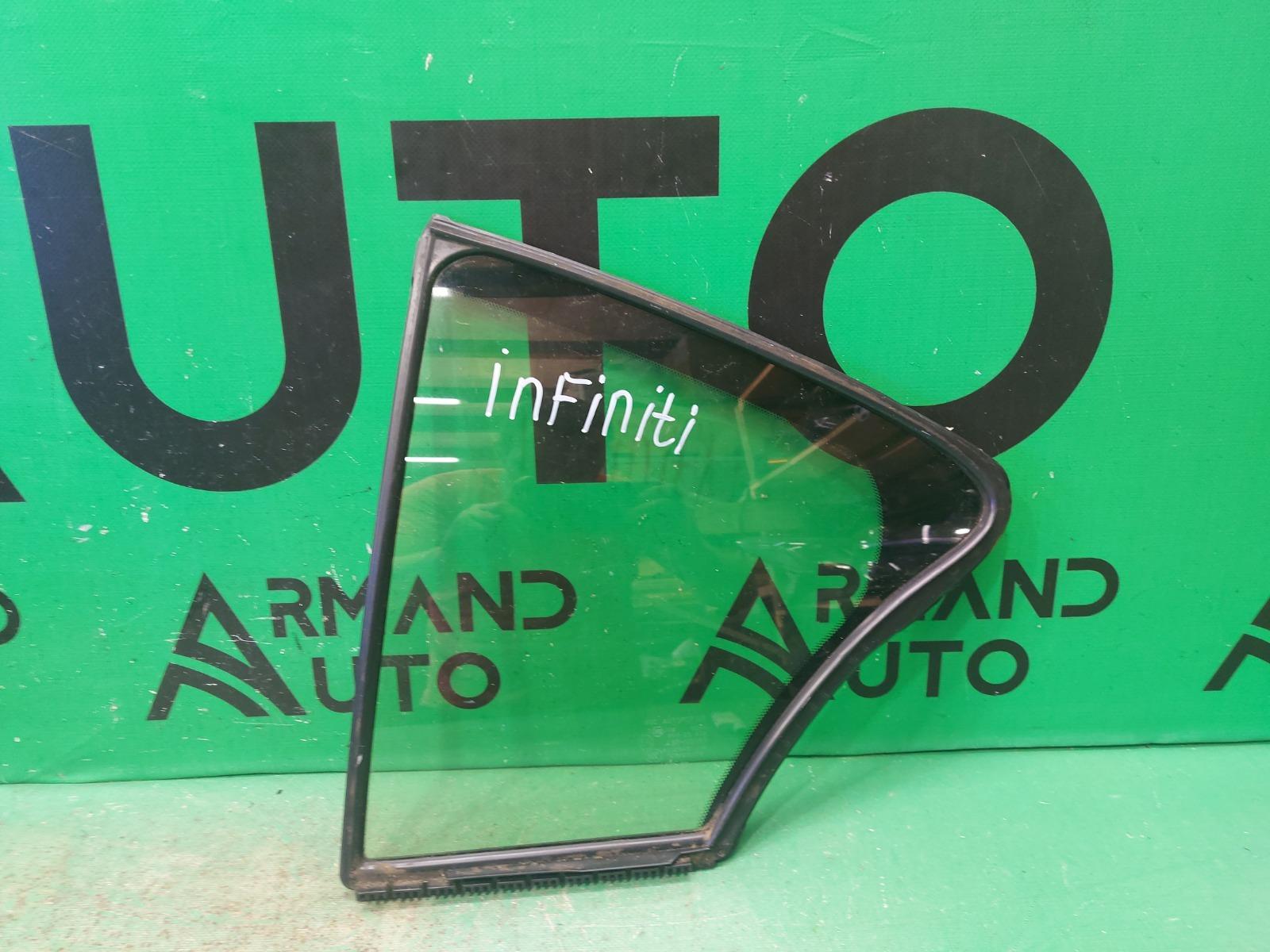 Стекло двери Infiniti Q50 V37 2013 левое (б/у)