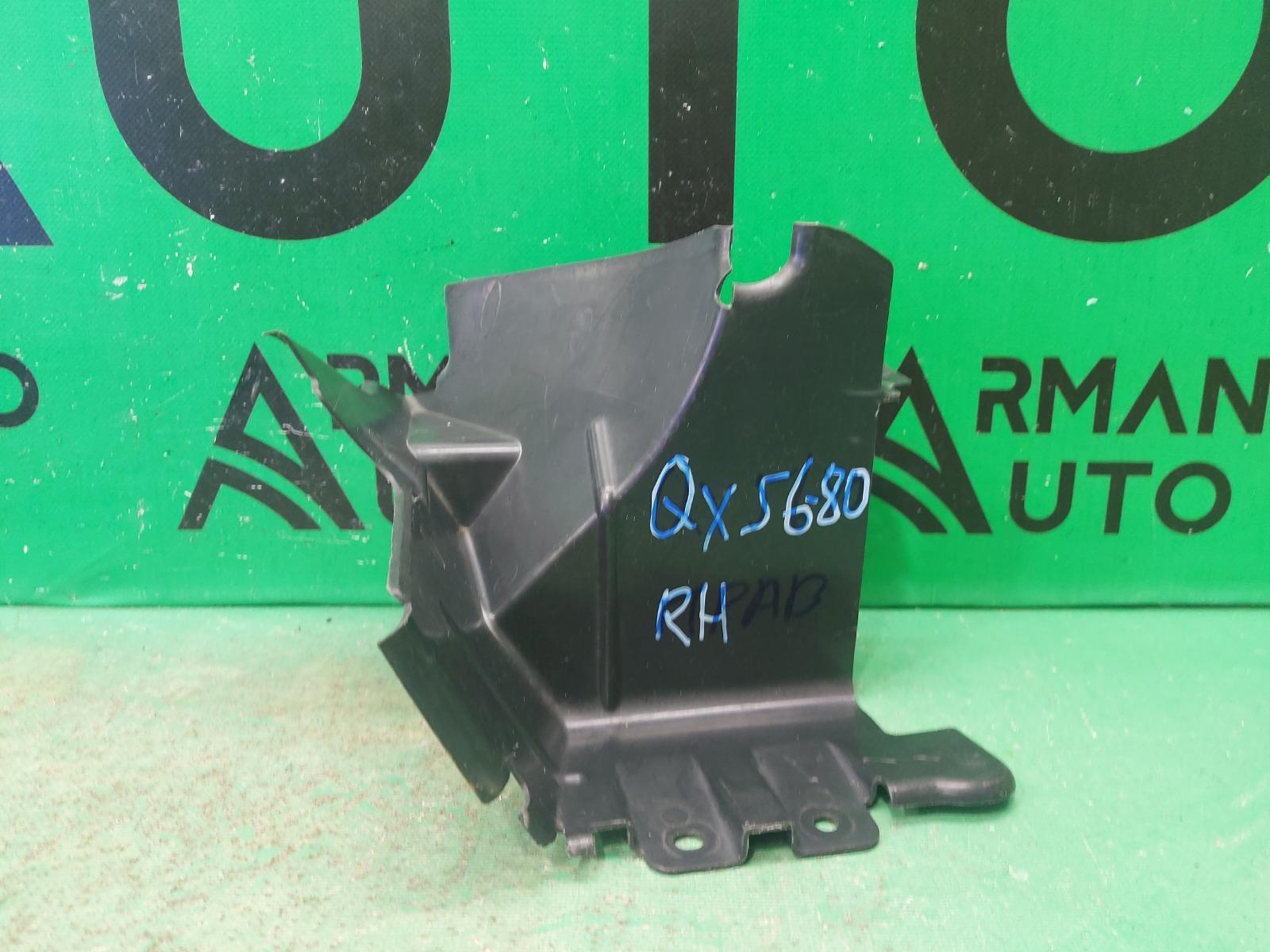 Уплотнитель радиатора Infiniti Qx56 Qx80 Z62 2010 правый (б/у)