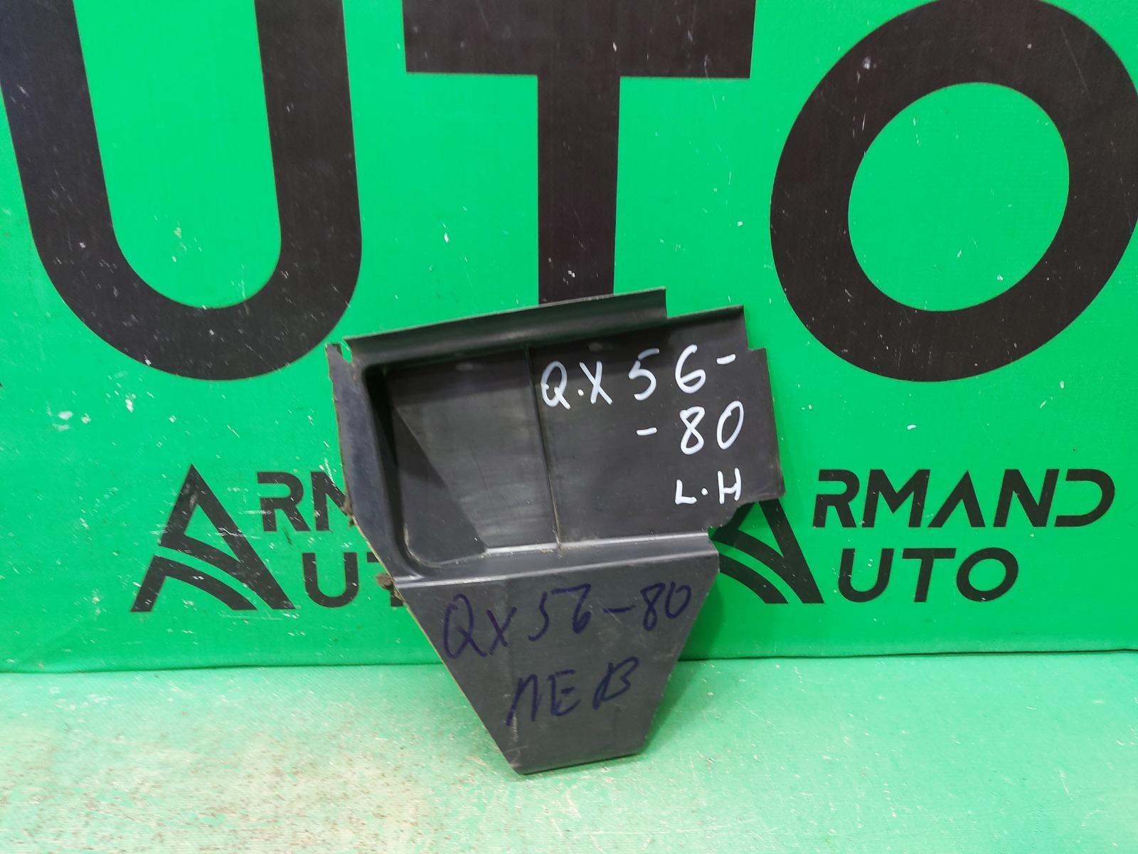 Уплотнитель радиатора Infiniti Qx56 Qx80 Z62 2010 левый (б/у)