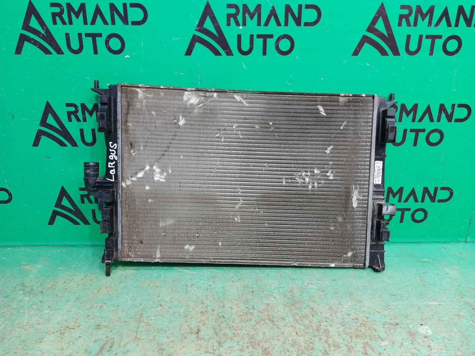 Радиатор охлаждения двигателя Lada Largus 1 2012 (б/у)