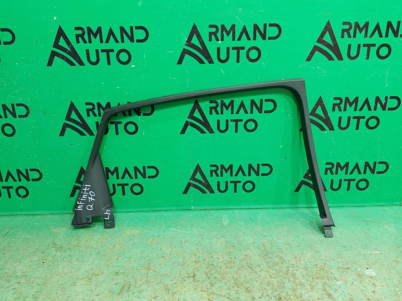 Рамка стекла двери Infiniti Q70/m Y51 2010 задняя левая (б/у)