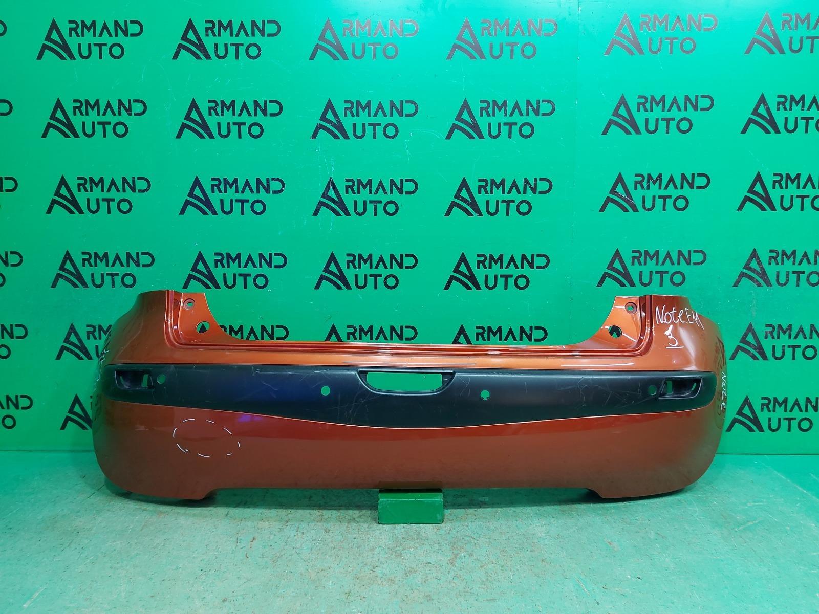 Бампер Nissan Note E11 2005 задний (б/у)