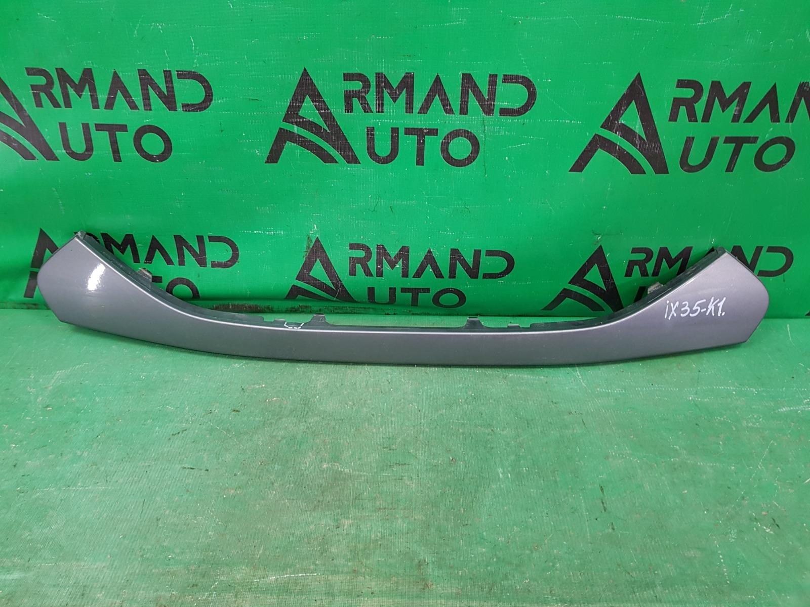 Накладка решетки радиатора Hyundai Ix35 1 2010 нижняя (б/у)