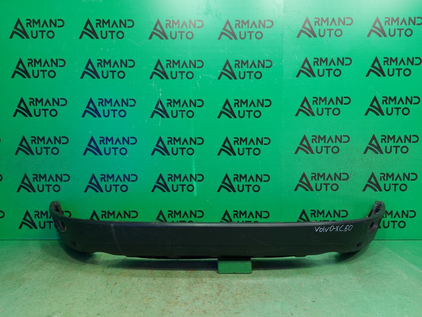 Юбка бампера Volvo Xc60 1 2008 задняя (б/у)