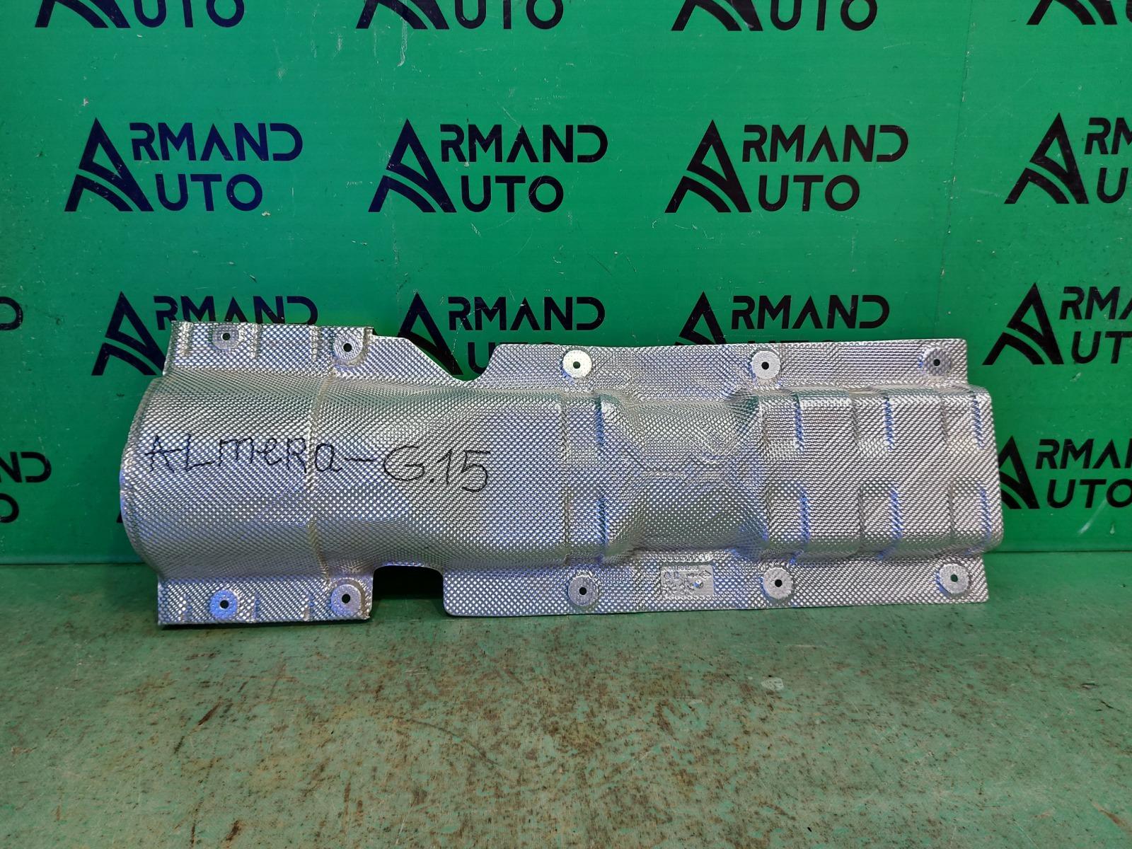 Теплозащитный экран Nissan Almera G15 2013 (б/у)