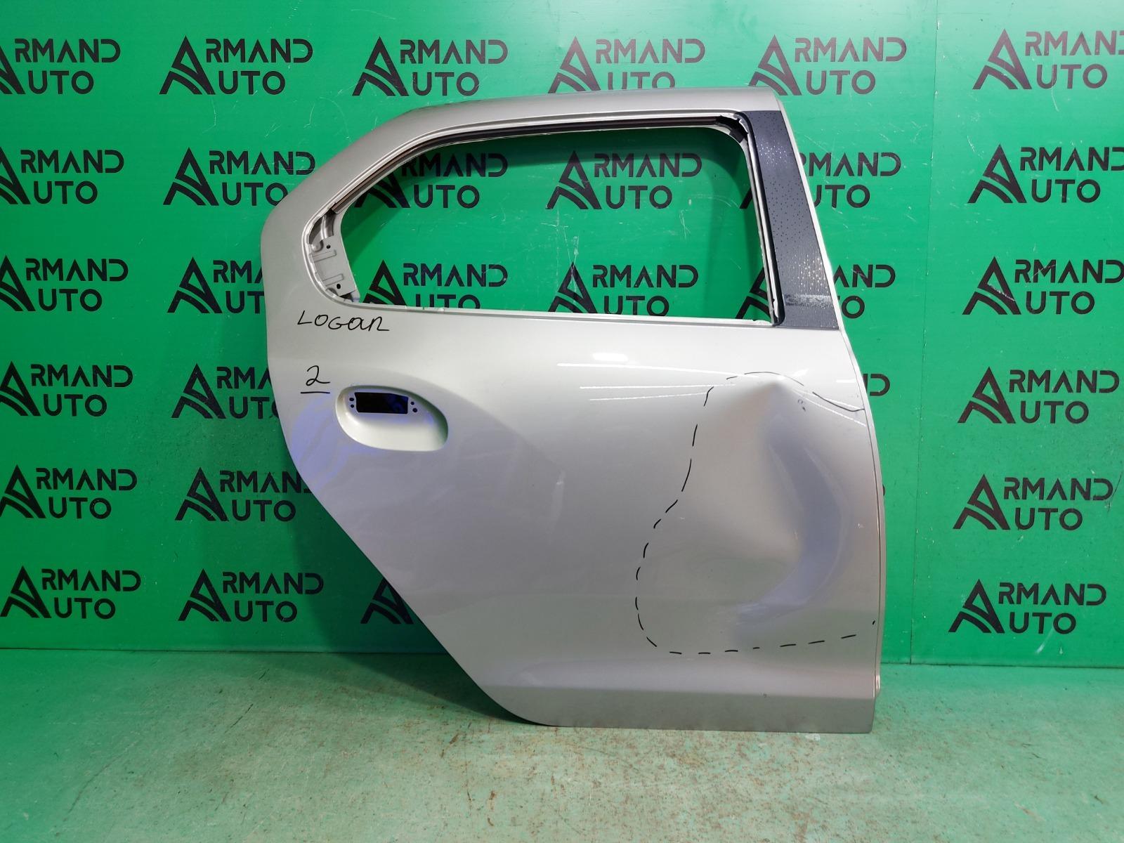 Дверь Renault Logan 2 2014 задняя правая (б/у)