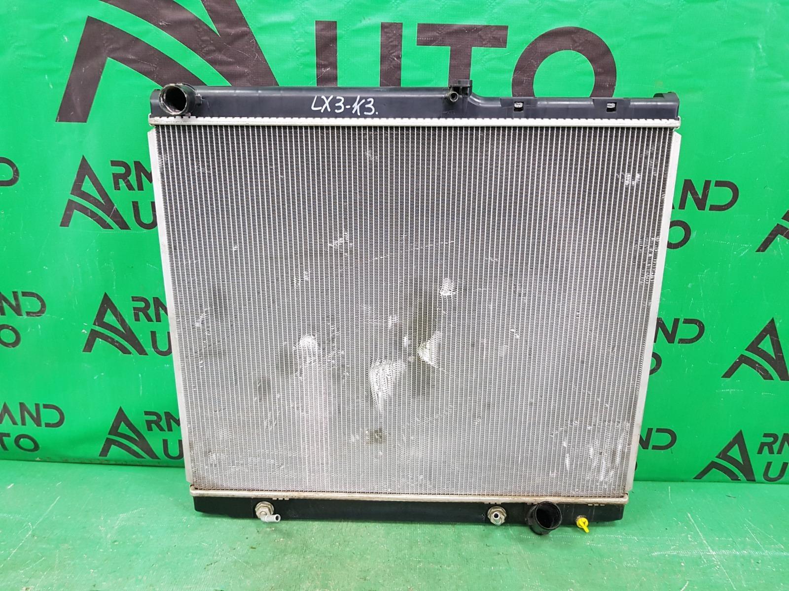 Радиатор охлаждения двигателя Lexus Lx 3 2007 (б/у)