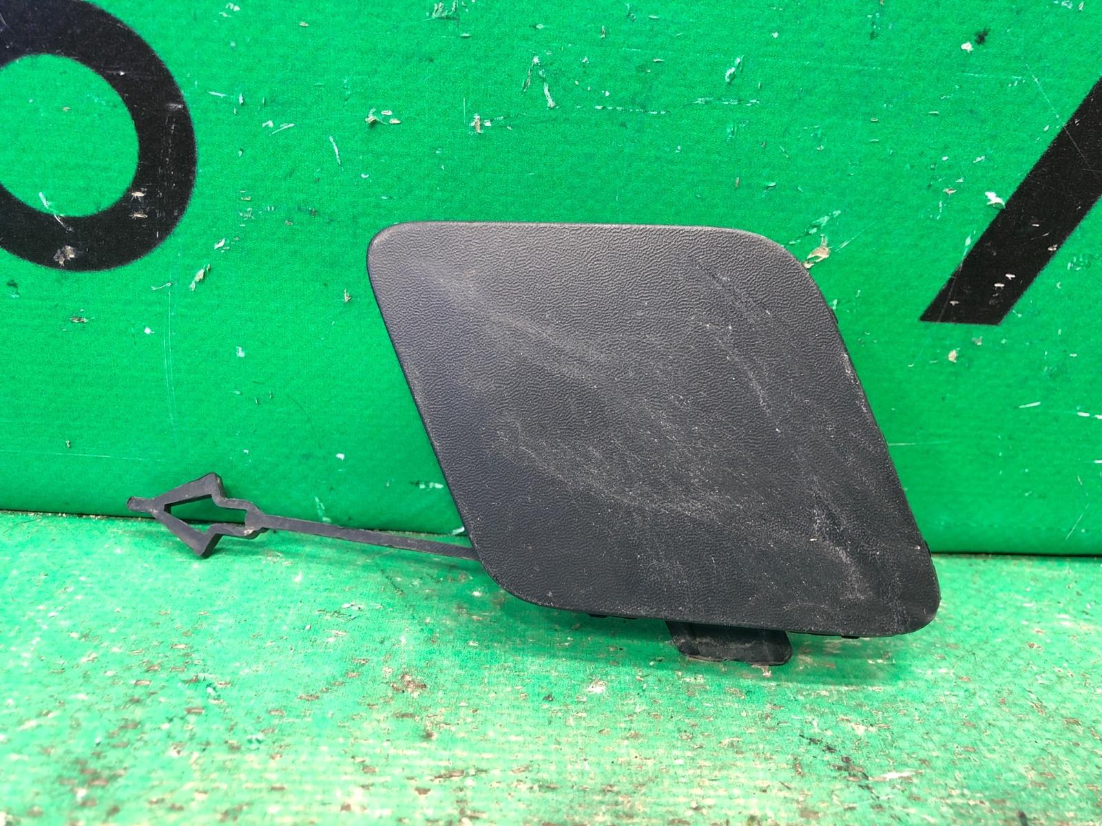 Заглушка буксировочного крюка Land Rover Discovery Sport 1 2014 передняя (б/у)