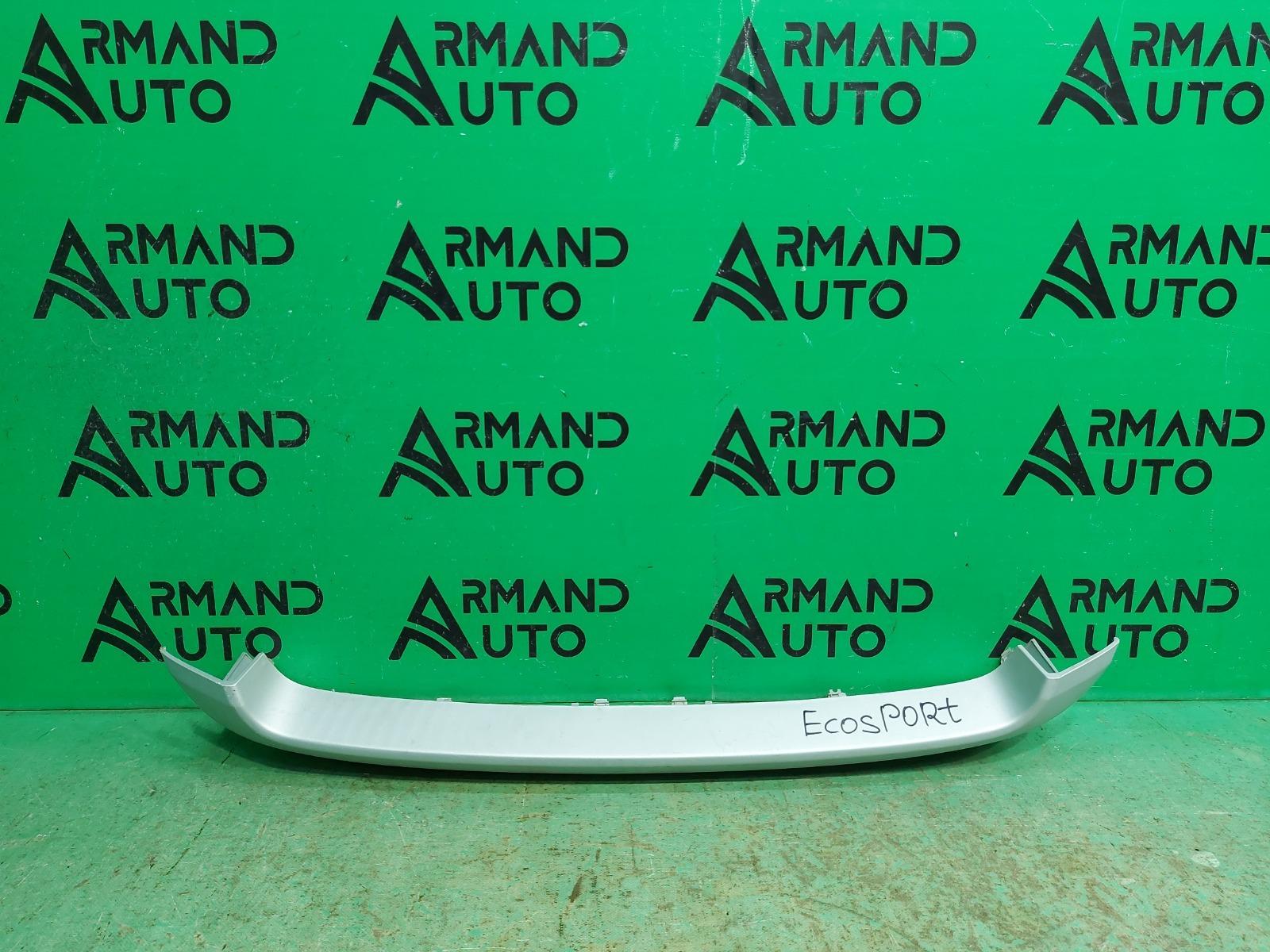 Накладка бампера Ford Ecosport 1 2014 передняя (б/у)