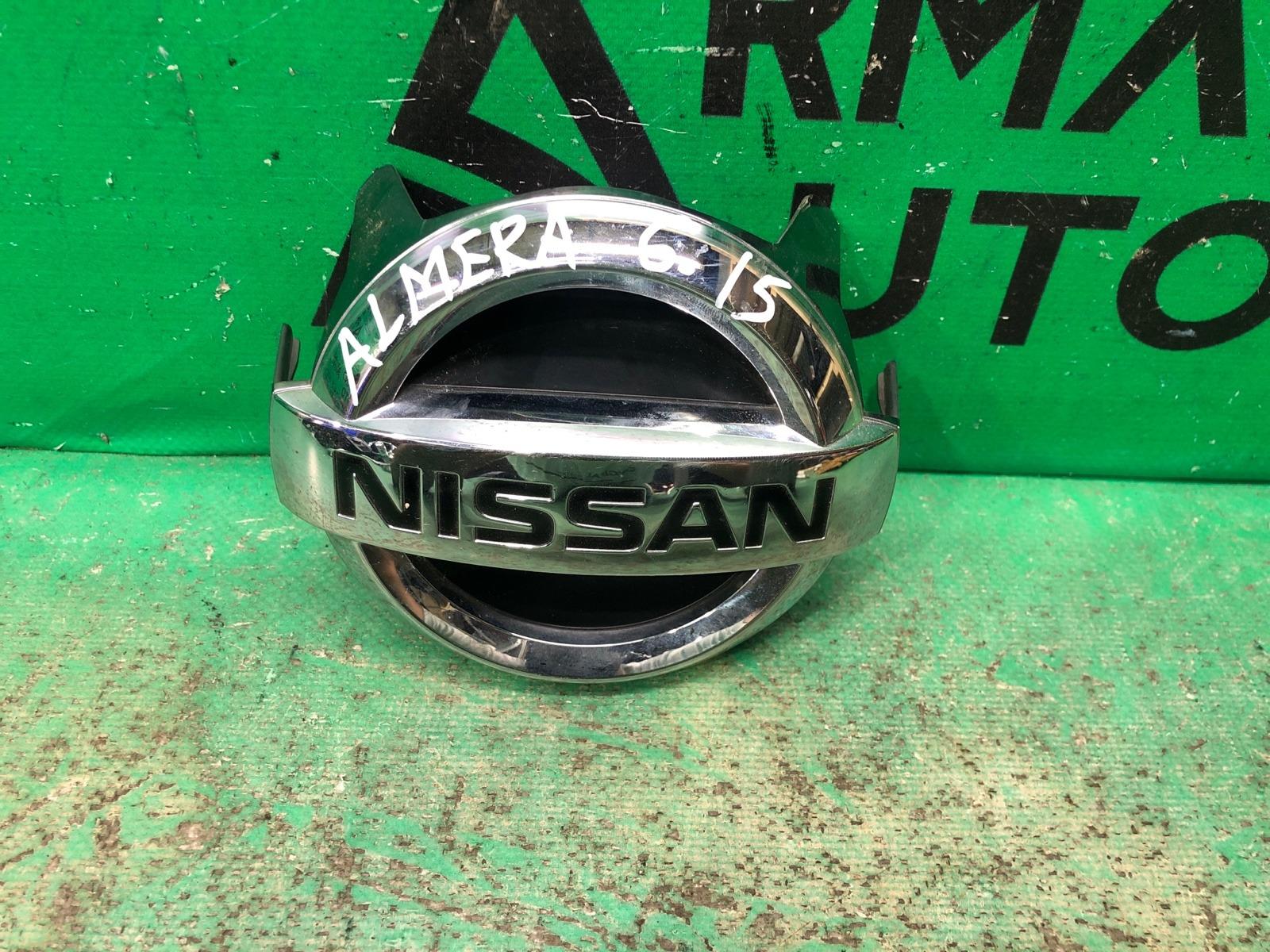 Эмблема Nissan Skyline V36 2006 (б/у)