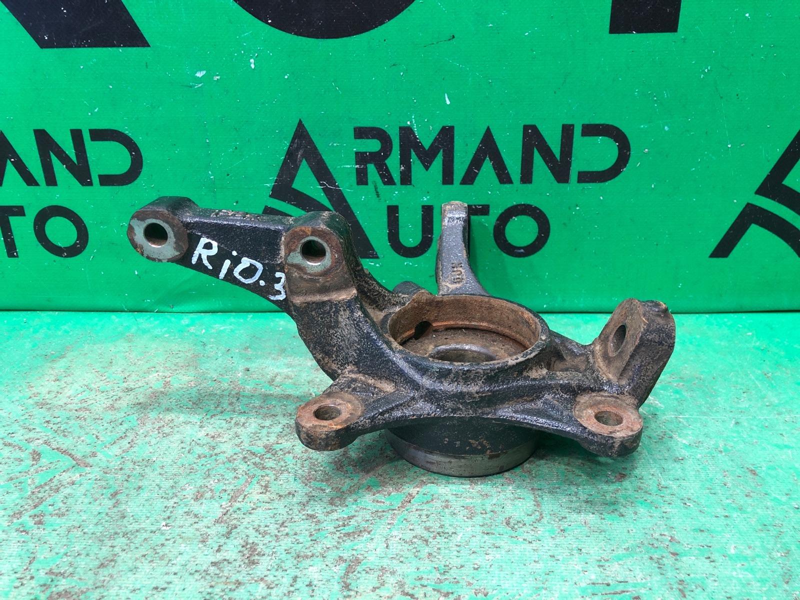 Кулак поворотный Kia Rio 3 2011 передний правый (б/у)