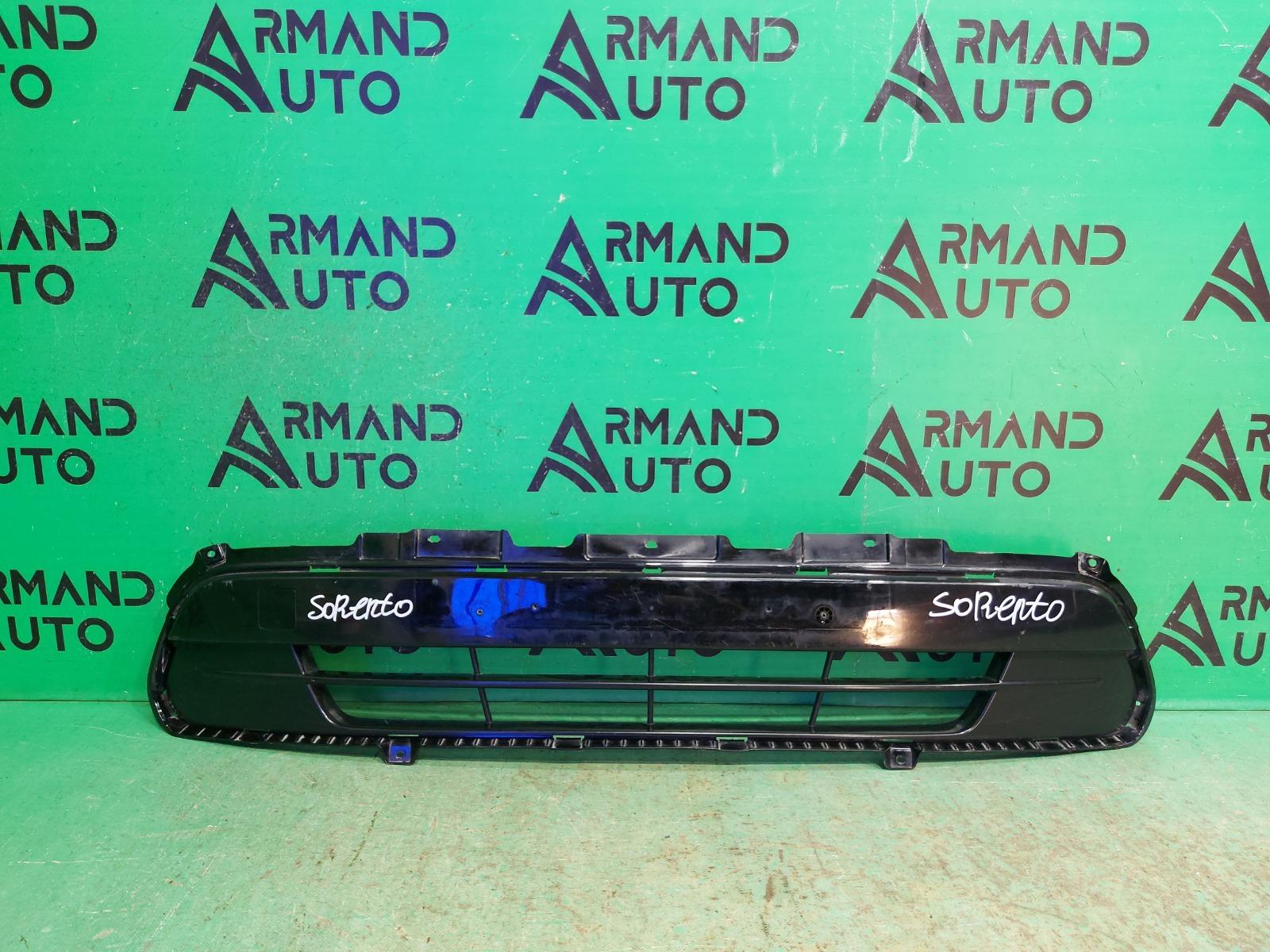 Решетка бампера Kia Sorento 3 PRIME 2014 передняя (б/у)