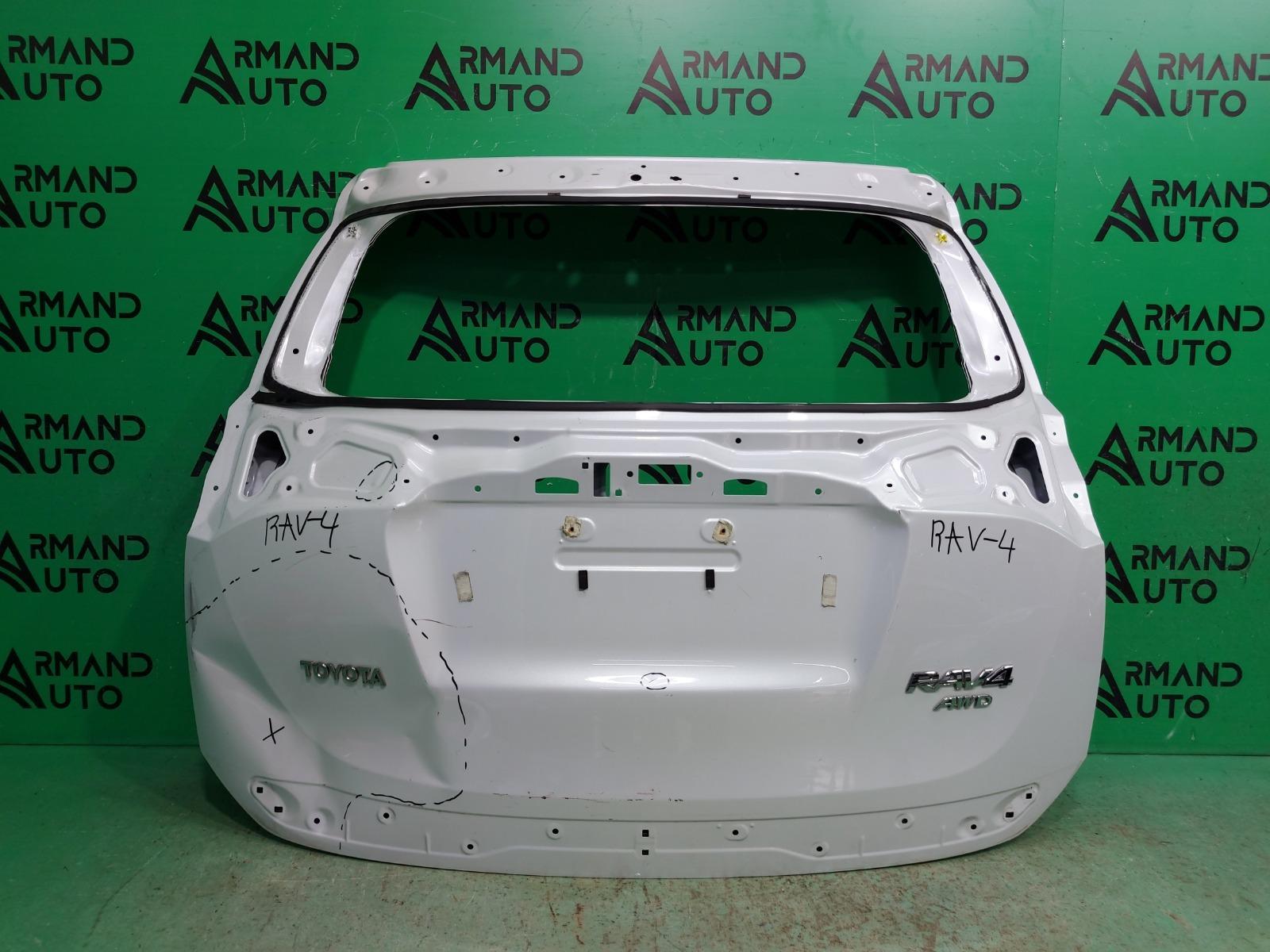 Дверь багажника Toyota Rav4 CA40 РЕСТАЙЛИНГ 2015 (б/у)