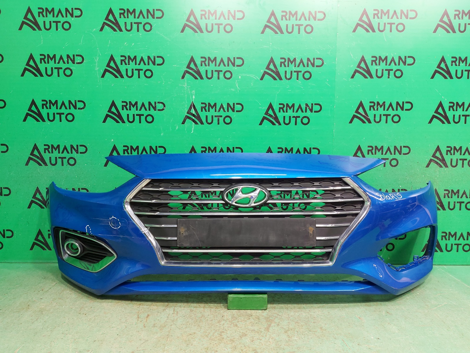 Бампер Hyundai Solaris 2 2017 передний (б/у)
