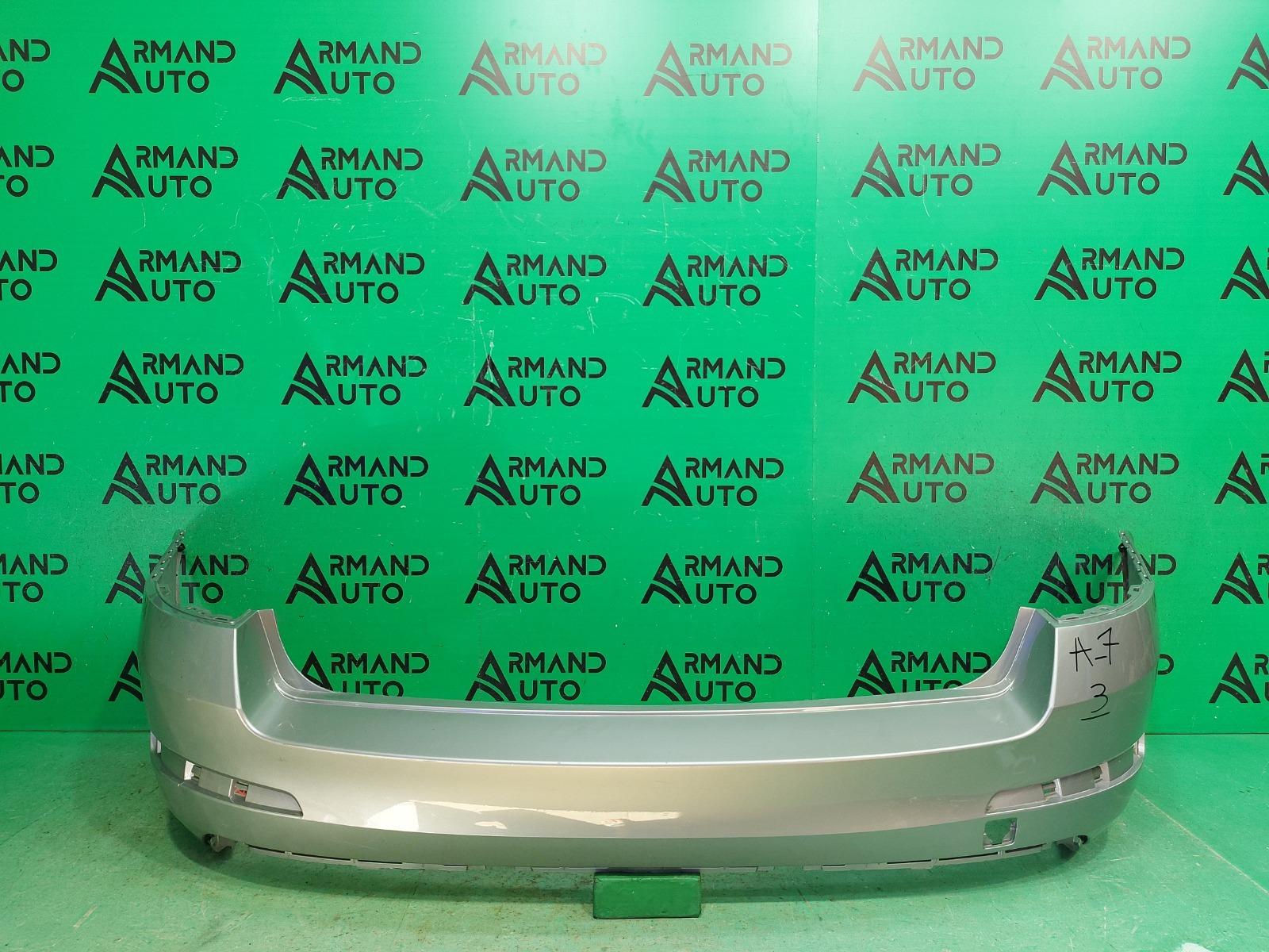 Бампер Skoda Octavia A7 2013 задний (б/у)