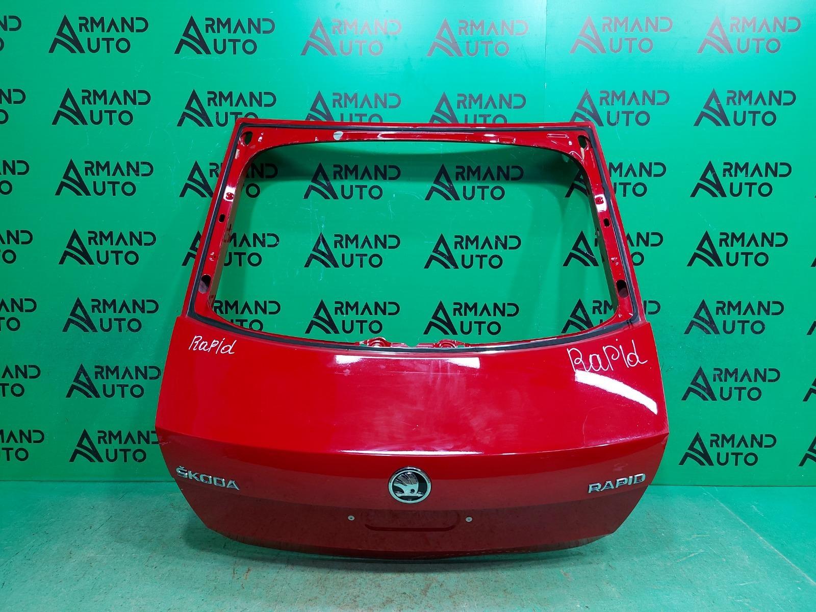 Дверь багажника Skoda Rapid 1 2012 (б/у)