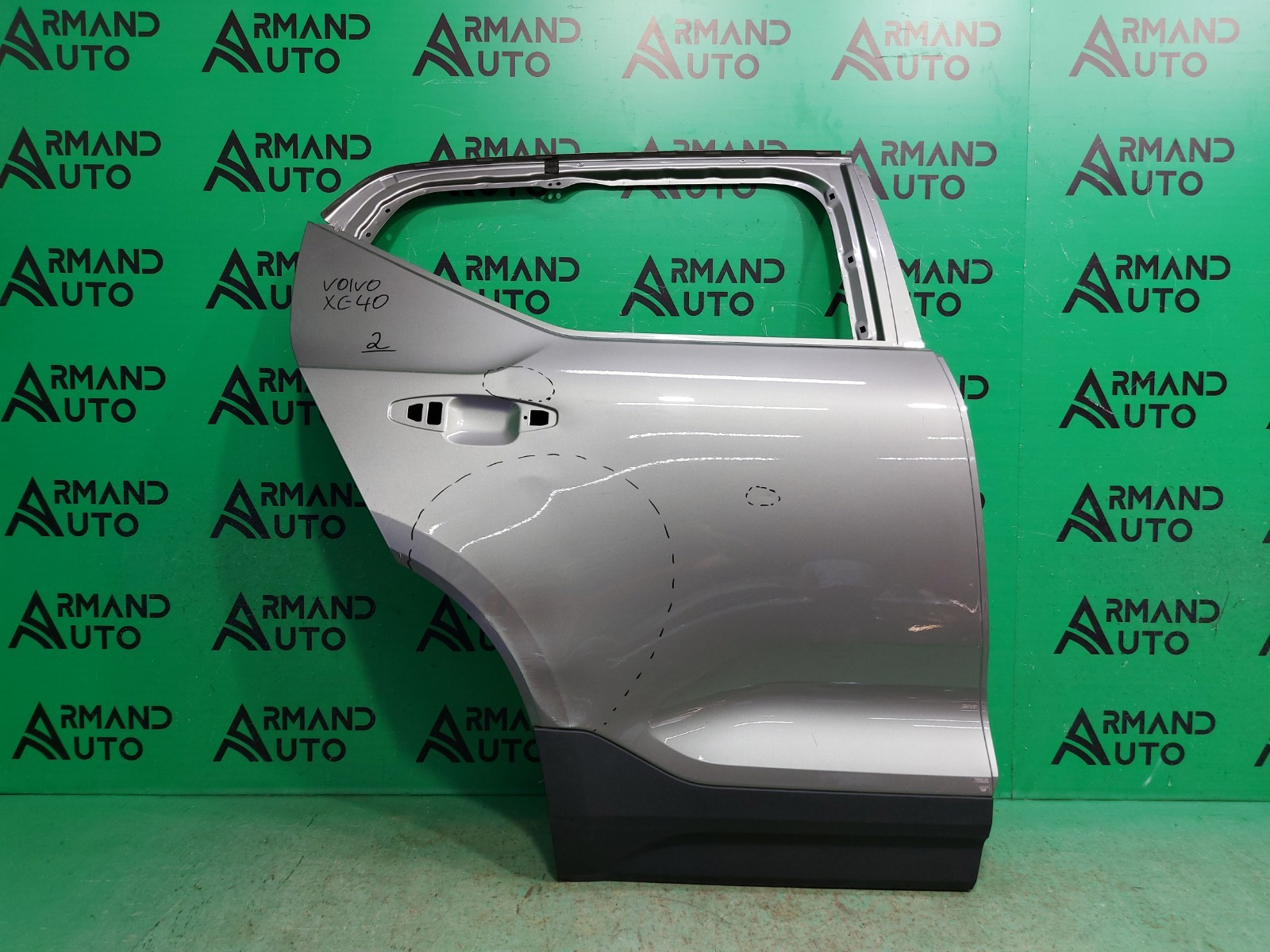 Дверь Volvo Xc40 1 2017 задняя правая (б/у)