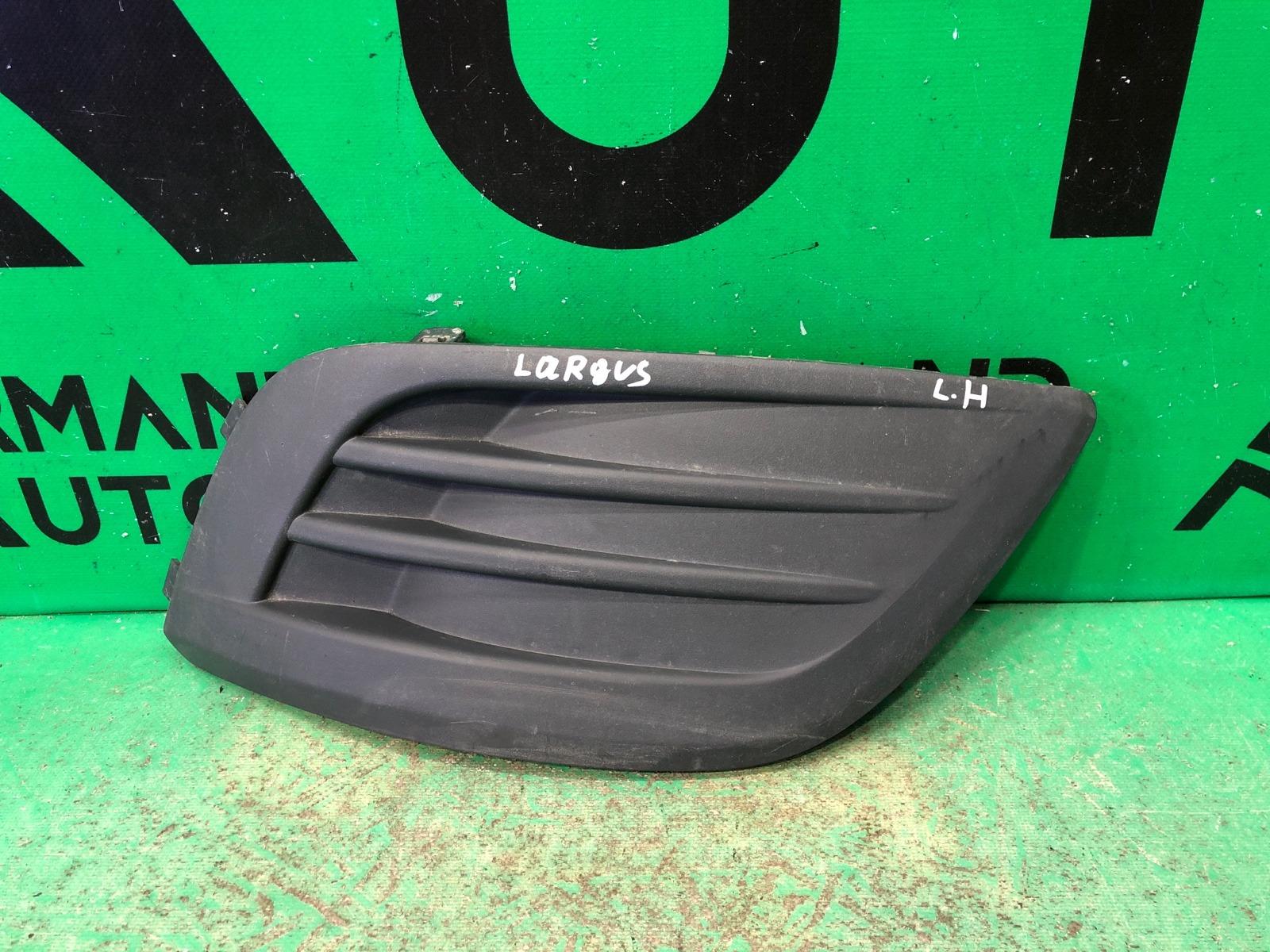 Накладка птф Lada Largus 1 2012 левая (б/у)