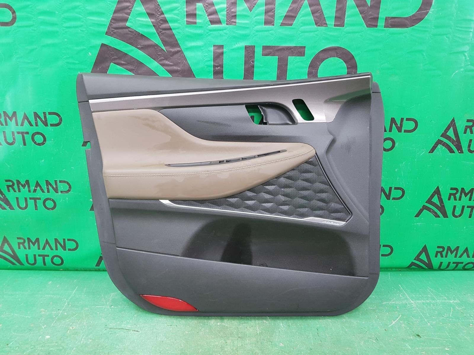 Обшивка двери Hyundai Santa Fe 4 2018 передняя левая (б/у)