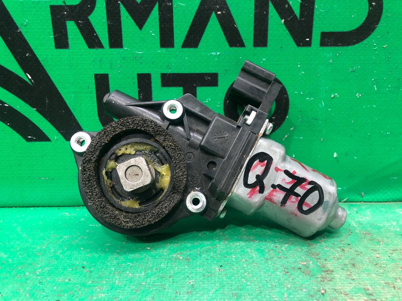 Мотор стеклоподъемника Infiniti Q70/m Y51 2010 передний левый (б/у)