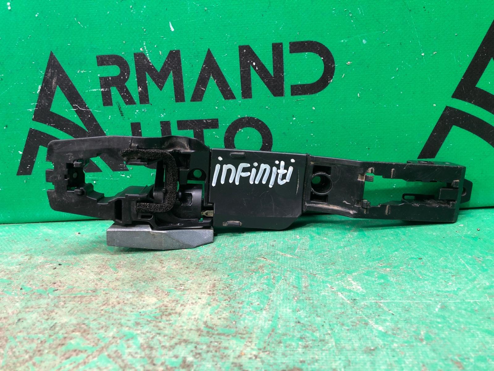 Кронштейн ручки двери Infiniti Qx56 Qx80 Z62 2010 задний левый (б/у)