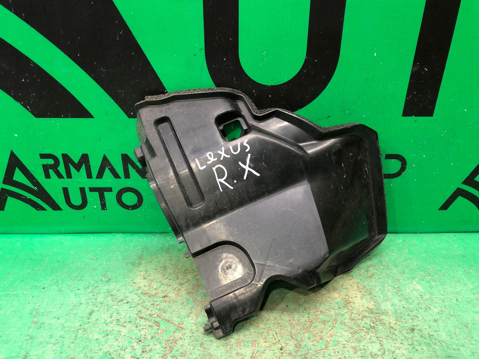 Дефлектор радиатора Lexus Rx 4 2015 левый (б/у)