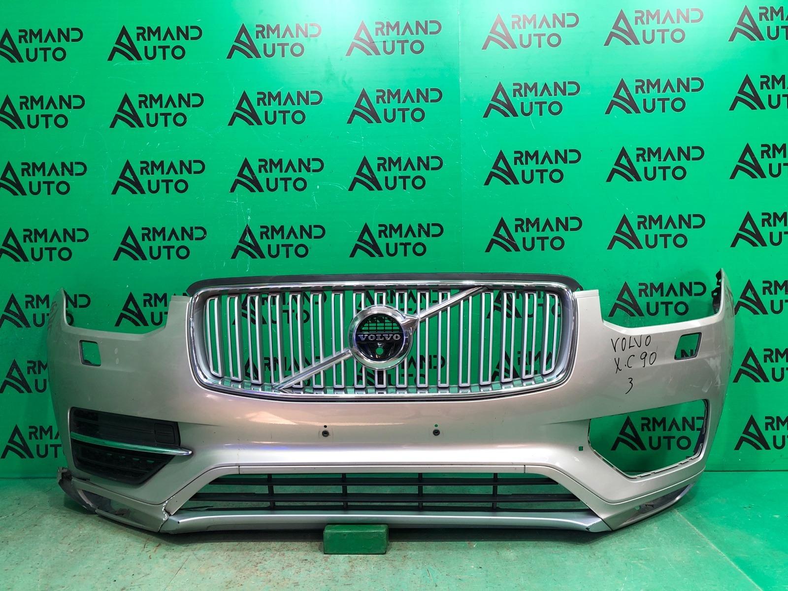 Бампер Volvo Xc90 2 2014 передний (б/у)